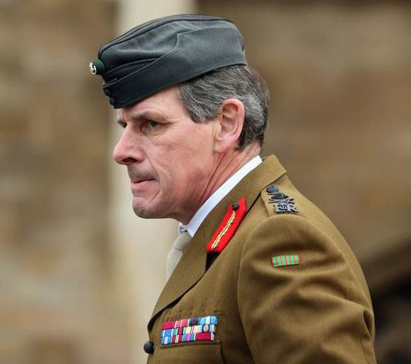 Nick Carter (British Army officer) Senior ranking army personnel could be axed as MoD reforms