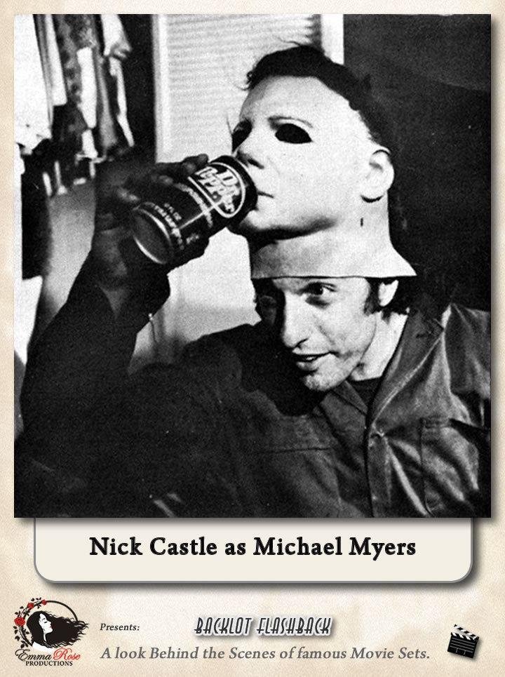 Nick Castle Nick Castle as Michael Myers in Halloween Film