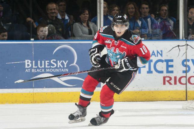 Nick Merkley NHL draft prospect Nick Merkley is making a statement on The Hot