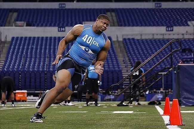 Nick Perry (American football) NFL Mock Draft 2012 Nick Perry Makes Big Splash In Top 15