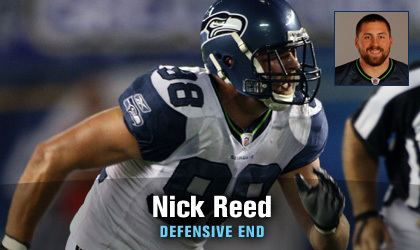 Nick Reed Seattle Seahawks Nick Reed