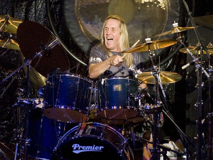 Nicko McBrain Iron Maiden39s Nicko McBrain on new album The Final