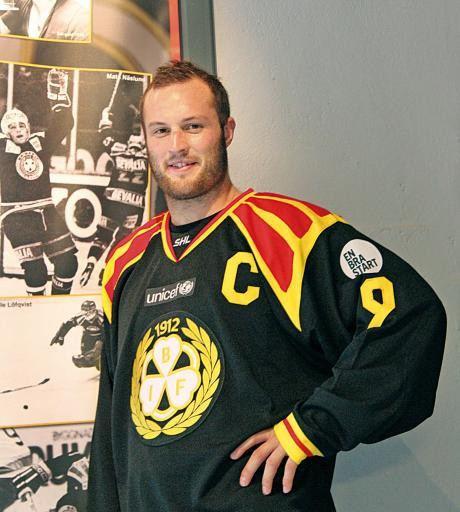 Niclas Andersén effectmagasinet Bryns nye kapten Niclas Andersn