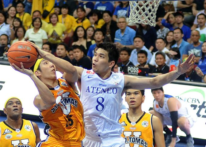 Nico Salva UAAP Salva shines to give Ateneo game one of the Finals