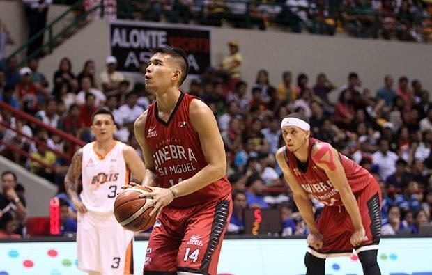 Nico Salva LOOK How Nico Salva helped Ginebra enter the Governors Cup Finals