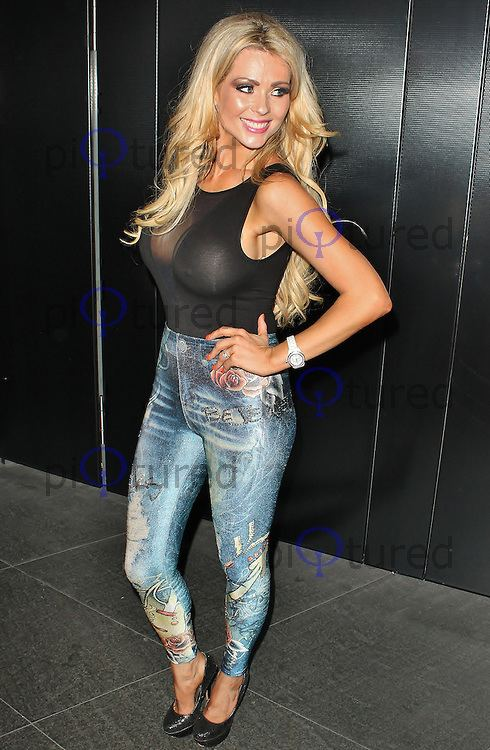 Nicola McLean Jeans for Genes Launch Party Celebrity and red carpet