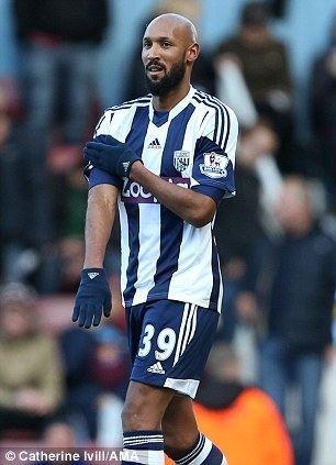 Nicolas Anelka Anelka Nazi salute storm striker could face lengthy FA ban for