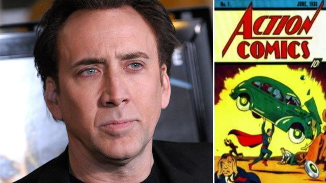 Nicolas Cage Nicolas Cages Stolen Comic Book Found More Than 11 Years Later