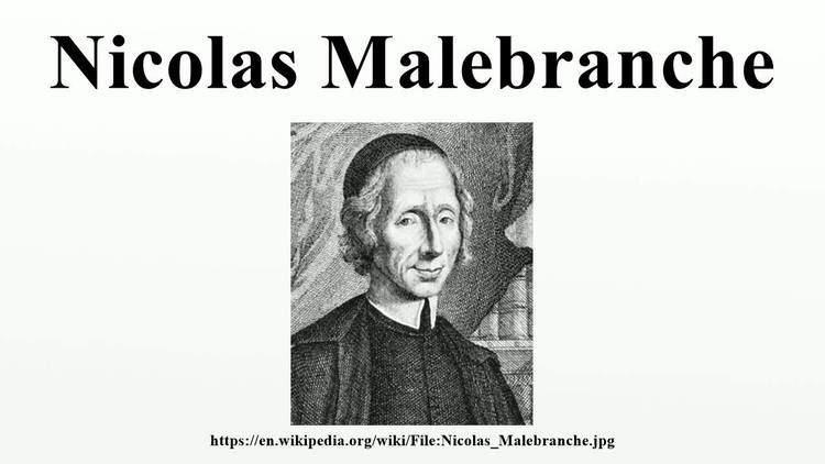 Nicolas Malebranche Nicolas Malebranche YouTube