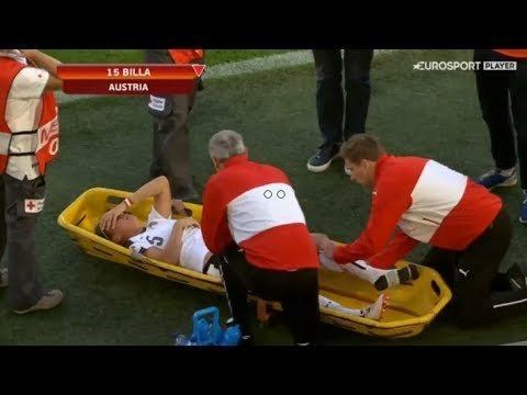 Nicole Billa Nicole Billa is stretchered off after a clash of boots YouTube
