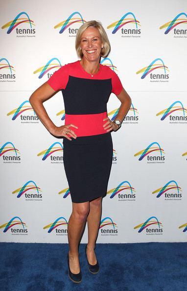 Nicole Bradtke Nicole Bradtke Photos Off Court At The 2013 Australian