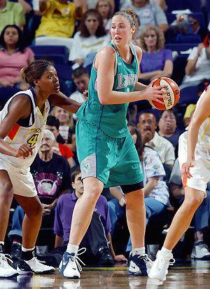 Nicole Ohlde WNBAcom QA with Minnesota Lynx center Nicole Ohlde