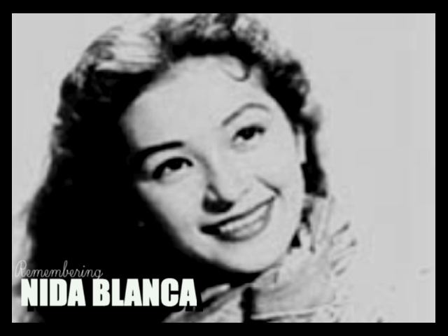 Nida Blanca Remembering Nida Blanca Star For All Seasons