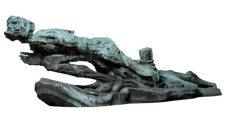 Niels Hansen Jacobsen niels hansen jacobsen skyggen bronze sculpture installation