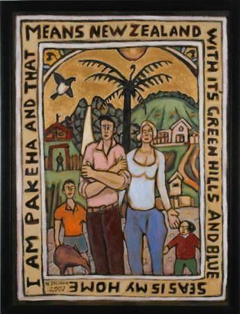 Nigel Brown Artbash 39Conversations39 Nigel Brown at milford galleries