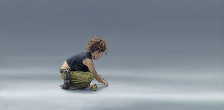 Nigel Cox (artist) Nigel CoxWhite Star Original Paintings Oils