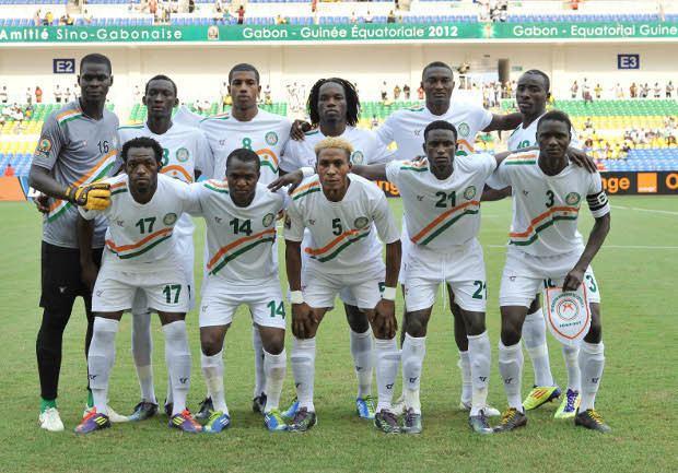 Výsledek obrázku pro niger national team