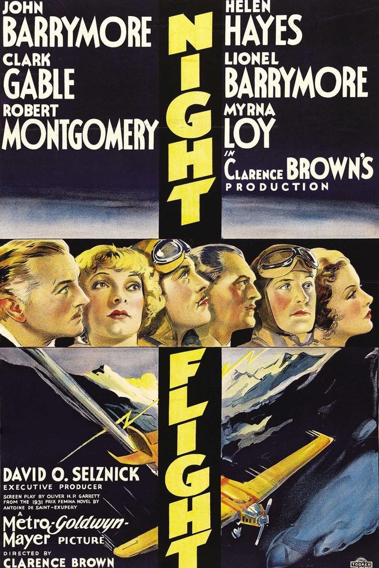 Night Flight (1933 film) wwwgstaticcomtvthumbmovieposters8676045p867
