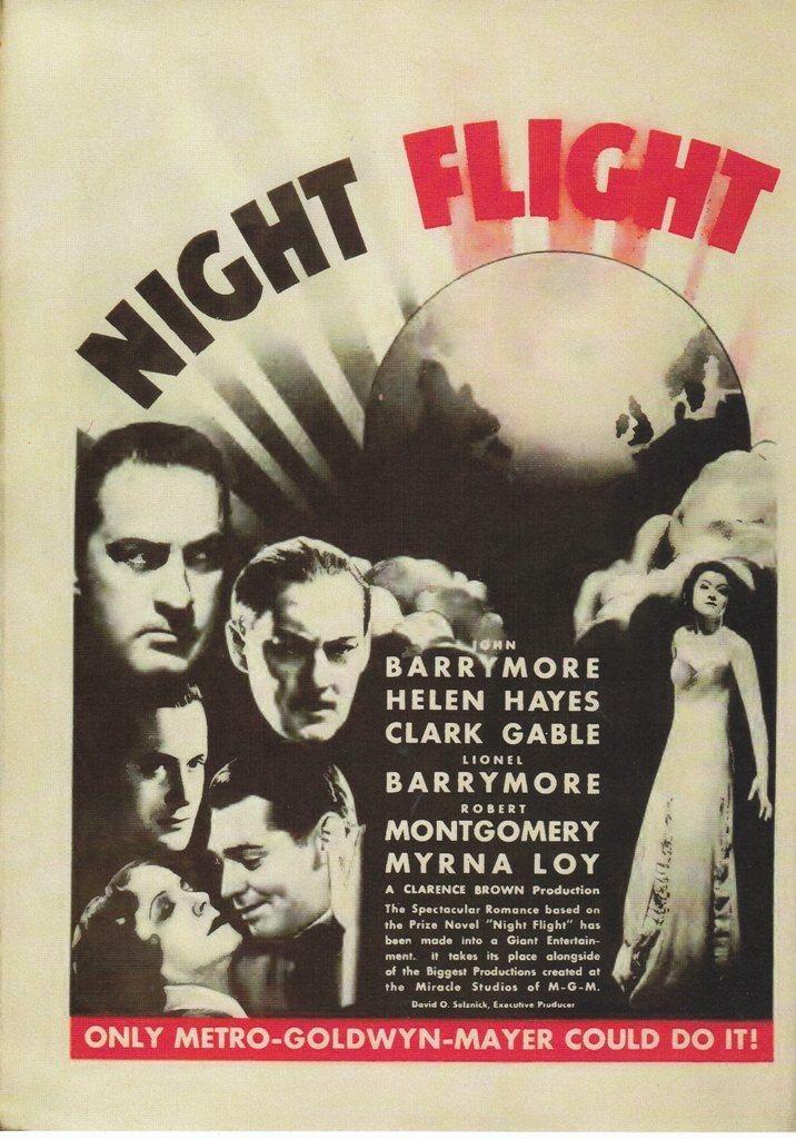 Night Flight (1933 film) Night Flight 1933 Dear Mr Gable