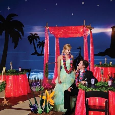 Night in Paradise Complete A Night in Paradise Theme Prom Nite