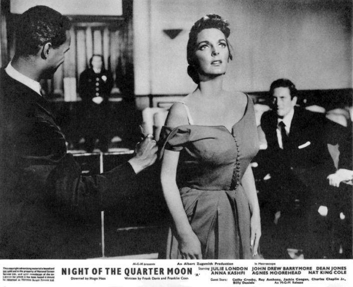 Night of the Quarter Moon Night of the Quarter Moon 1959 aka Flesh and Flame