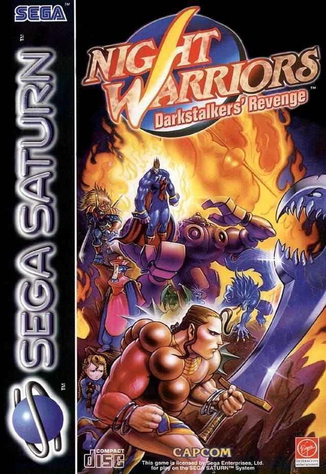 Night Warriors: Darkstalkers' Revenge Night Warriors Darkstalkers39 Revenge Box Shot for Saturn GameFAQs
