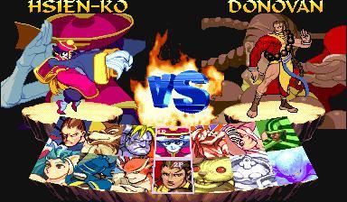 Night Warriors: Darkstalkers' Revenge Night Warriors Darkstalkers39 Revenge Euro 950316 ROM lt MAME ROMs