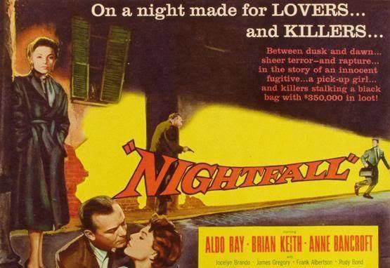 Nightfall (1957 film) Tune Up Film Poster Jacques Tourneur Nightfall 1957
