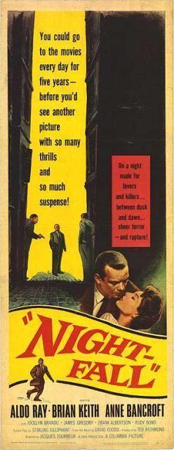 Nightfall (1957 film) Nightfall 1957 Final curtain call for classic noir filmsnoirnet