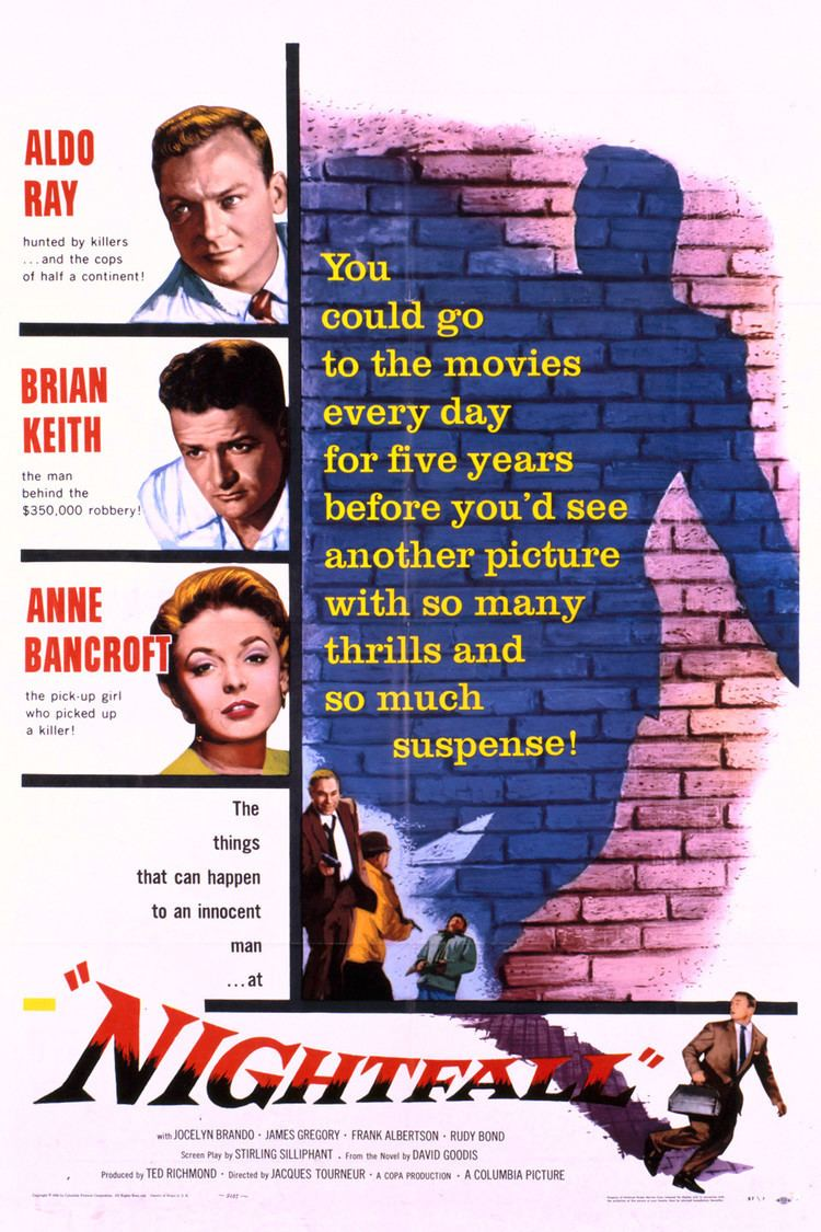 Nightfall (1957 film) wwwgstaticcomtvthumbmovieposters41611p41611