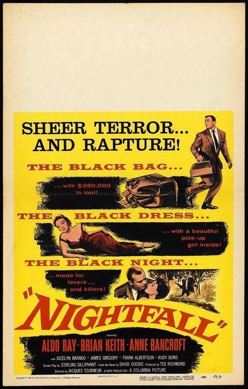 Nightfall (1957 film) Where Danger Lives NIGHTFALL 1957