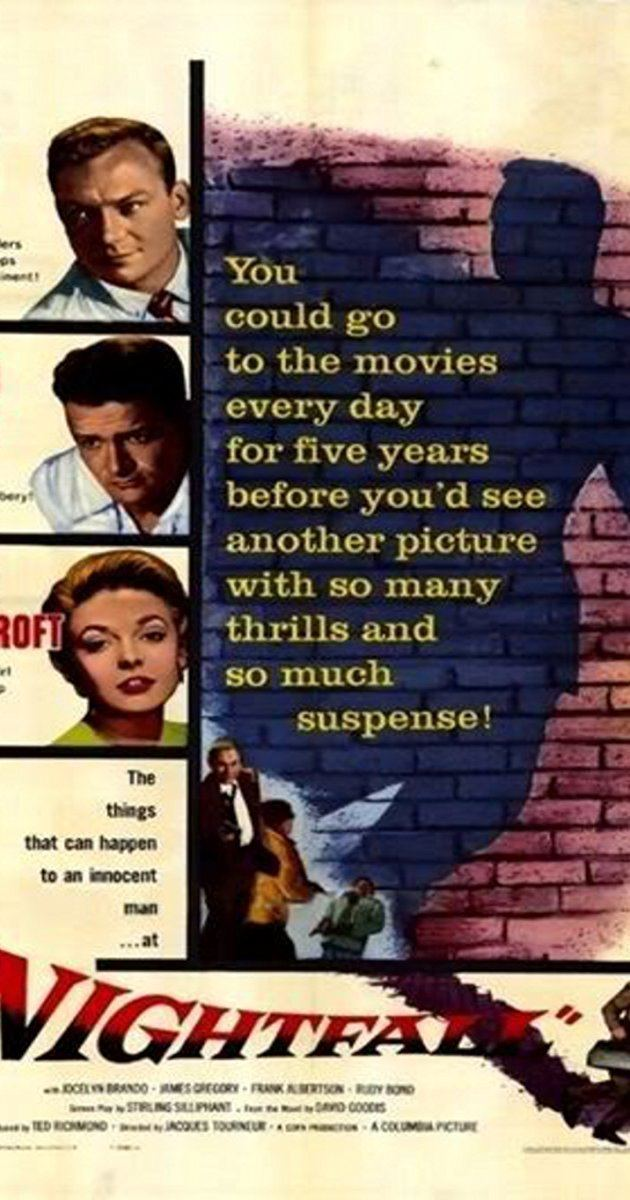 Nightfall (1957 film) Nightfall 1956 IMDb