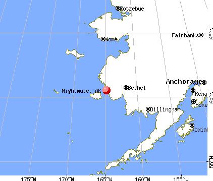 Nightmute, Alaska Nightmute Alaska AK 99690 profile population maps real estate