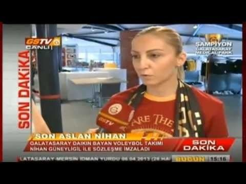 Nihan Güneyligil Nihan Gneyligil Galatasarayda YouTube