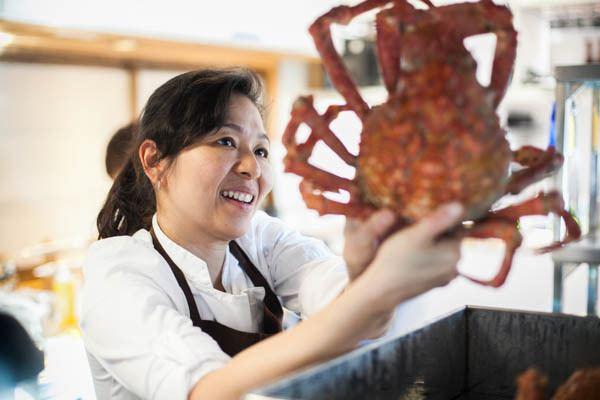 Niki Nakayama Niki Nakayama of nnaka Doing Kaiseki The California Way Kore