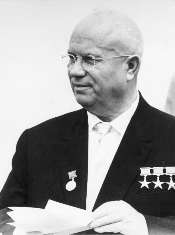 Nikita Khrushchev Nikita Khrushchev Wikipedia the free encyclopedia