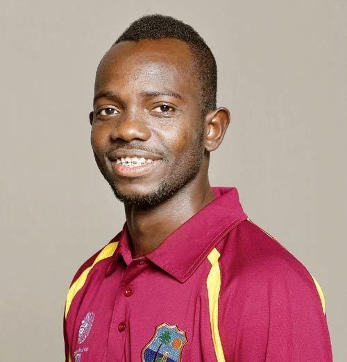 Nikita Miller (Cricketer) playing cricket