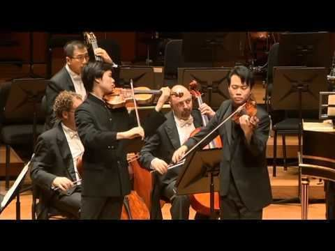 Nikki Chooi Timothy Chooi and Nikki Chooi Concerto for Two Violins
