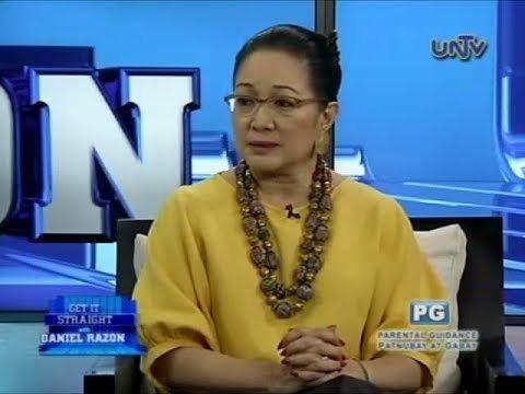 Nikki Coseteng Former Senator Nikki Coseteng on Get it Straight Part 1 YouTube