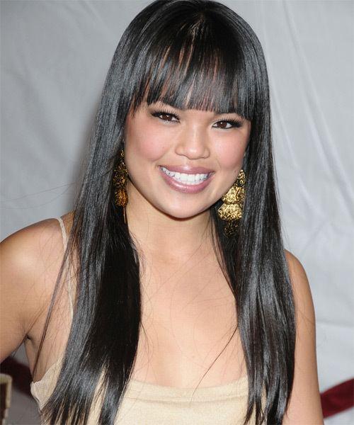 Nikki SooHoo Nikki Soohoo Hairstyles Celebrity Hairstyles by