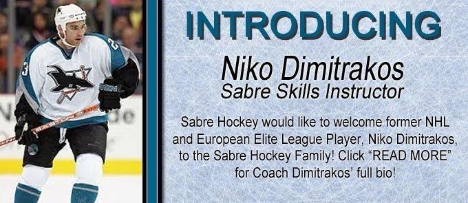 Niko Dimitrakos Sabre Hockey Association powered by GOALLINEca