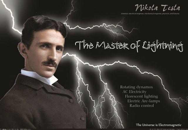 Nikola Tesla Nikola Tesla Master of the Universe Quantum Theory Science and