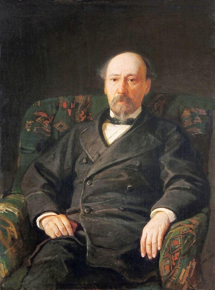 Nikolay Nekrasov FileNikolay Gay Portrait of the Poet Nikolay Nekrasov
