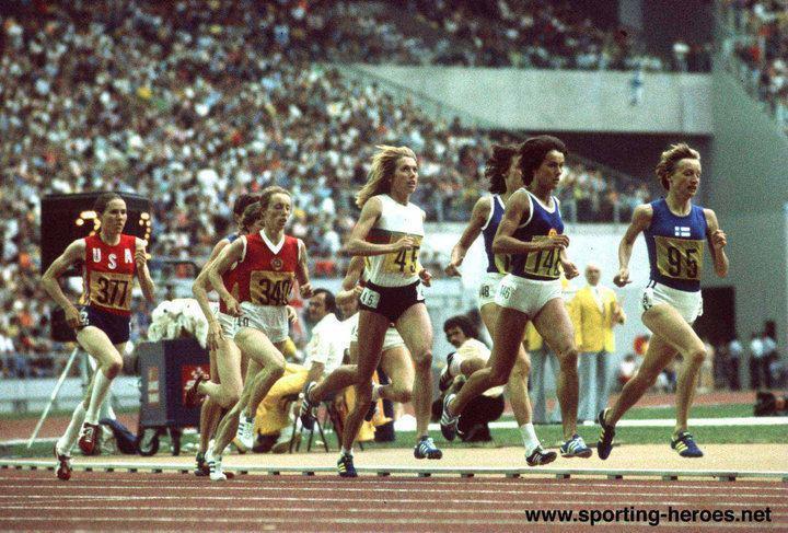 Nikolina Shtereva Nikolina SHTEREVA 1976 Olympics 800m silver medal Bulgaria