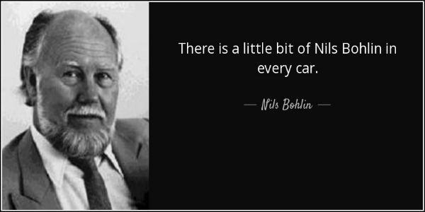 Nils Bohlin ON THIS DAY The ThreePoint Seatbelt Inventor Nils Ivar Bohlin Was