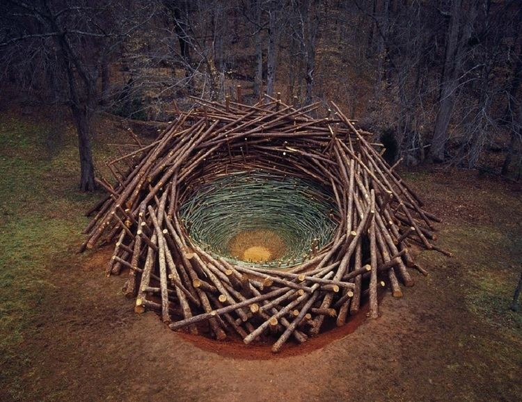 Nils-Udo Utopian Sculptures Made from the Natural World