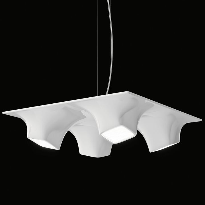 Nimbus Littling movie scenes The LED technology used by Nimbus enabled the New York designer to come up with a luminaire that is unconventional expressive and very free in terms of