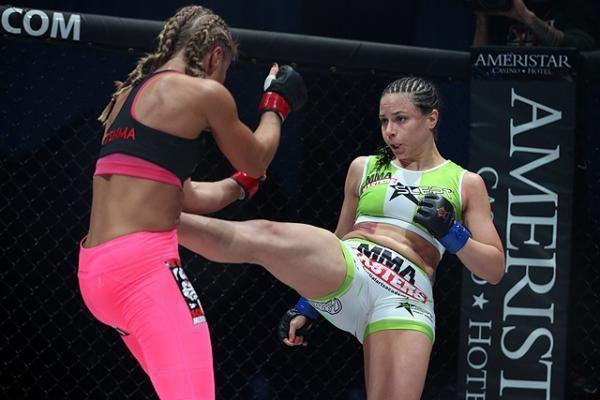Nina Ansaroff Nina quotThe Strinaquot Ansaroff MMA Stats Pictures News