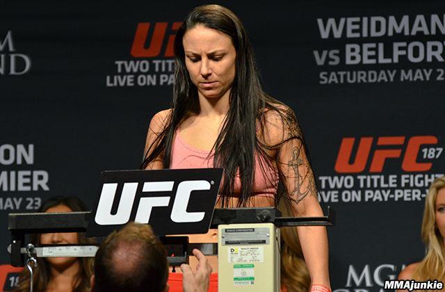 Nina Ansaroff Nina Ansaroff apologizes for UFC 187 bout with flu