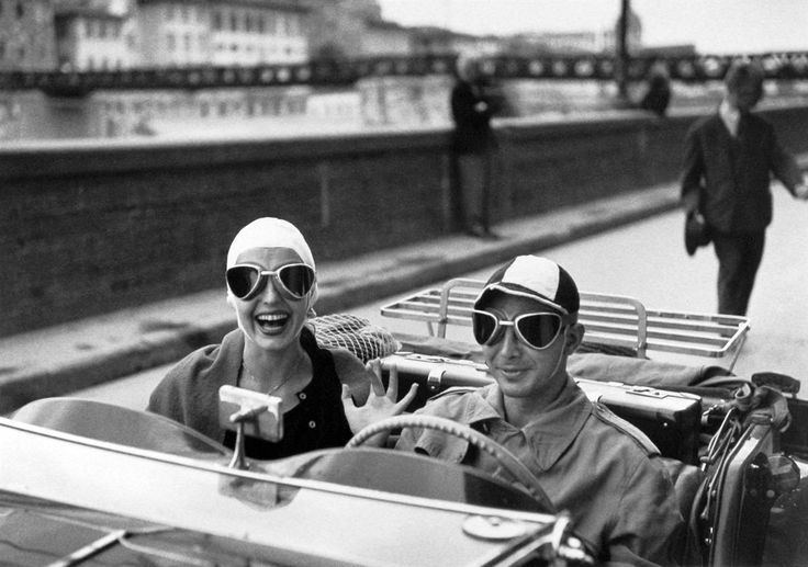 Ninalee Craig Ruth ORKIN quotCouple in MGquot Ninalee Craig smiles and